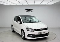 USED 2014 63 VOLKSWAGEN POLO 1.2 R-LINE STYLE AC 5d 60 BHP