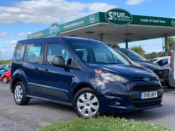 2016 FORD TOURNEO CONNECT 5 SEAT 1.5 STYLE TDCI 5d 99 BHP £12995.00