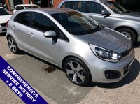 """USED 2012 12 KIA RIO 1.4 3 5DOOR 107 BHP USB & AUX Sockets   :   Cruise Control / Speed Limiter   :   Phone Bluetooth Connectivity      Heated Front Seats   :   Rear Privacy Glass   :   Rear Parking Sensors   :   17"""" Alloy Wheels      Comprehensive Service History"""
