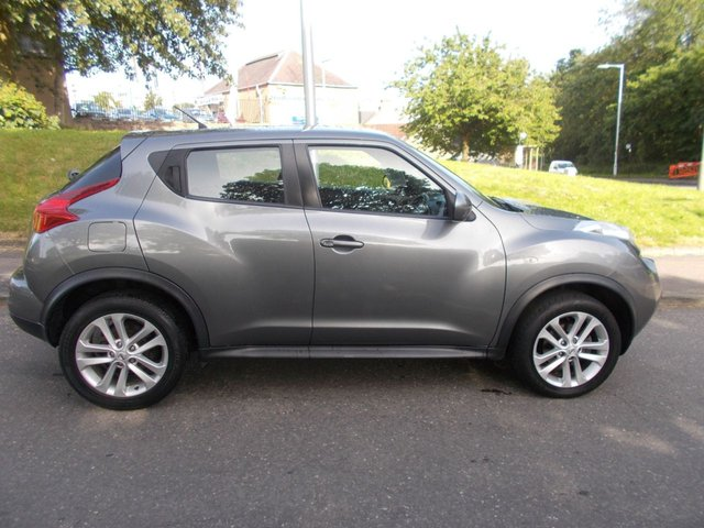 USED 2014 63 NISSAN JUKE 1.6 ACENTA 5d 117 BHP ++LOW MILEAGE CAR COMES WITH A FREE 6 MONTHS BREAKDOWN COVER++