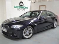 USED 2016 16 BMW 5 SERIES 2.0 520d M Sport 4dr AUTO