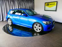 USED 2012 62 BMW 1 SERIES 2.0 125D M SPORT 5d AUTO 215 BHP £0 DEPOSIT FINANCE AVAILABLE, AIR CONDITIONING, AUX INPUT, BLUETOOTH CONNECTIVITY, CLIMATE CONTROL, DAB RADIO, DAYTIME RUNNIG LIGHTS, DRIVE PERFORMANCE CONTROL, PARKING SENSORS, START/STOP SYSTEM, STEERING WHEEL CONTROLS, TRIP COMPUTER