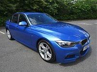 2013 BMW 3 SERIES 2.0 320D M SPORT 4d 181 BHP £10990.00