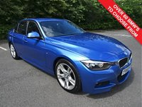 USED 2013 63 BMW 3 SERIES 2.0 320D M SPORT 4d 181 BHP