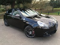USED 2014 64 ALFA ROMEO GIULIETTA 1.7 TBI QUADRIFOGLIO VERDE TCT 5d AUTO 240 BHP PREVIOUSLY SUPPLIED & MAINTAINED BY OURSELVES
