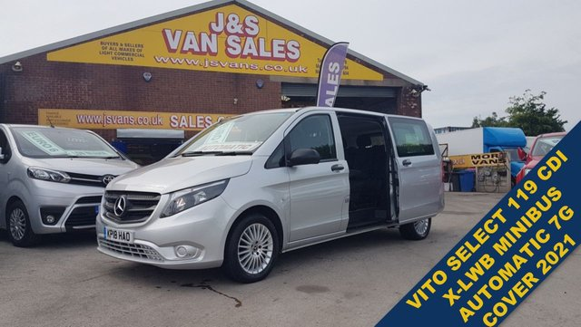 USED 2018 18 MERCEDES-BENZ VITO MINIBUS MPV 119 BLUETEC TOURER SELECT AUTOMATIC LOTS MORE BUSES 5 TO 17 SEATS ALL MODELS