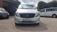 USED 2018 18 MERCEDES-BENZ VITO 119 BLUETEC TOURER SELECT AUTO 190 BHP EURO 6  NEW MODEL SELECT 119 AUTO MINIBUS