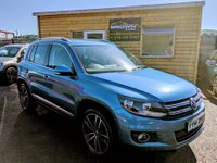 2014 VOLKSWAGEN TIGUAN 2.0 MATCH TDI BLUEMOTION TECHNOLOGY 4MOTION 5d 139 BHP £10750.00