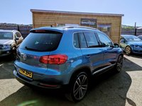 USED 2014 14 VOLKSWAGEN TIGUAN 2.0 MATCH TDI BLUEMOTION TECHNOLOGY 4MOTION 5d 139 BHP