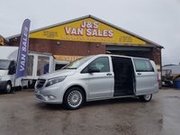 2018 MERCEDES-BENZ VITO 119 BLUETEC TOURER SELECT AUTO 190 BHP EURO 6  £22995.00