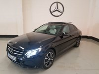 USED 2016 66 MERCEDES-BENZ C CLASS 2.0 C350 E SPORT PREMIUM PLUS 4d AUTO 208 BHP Panoramic Roof/Nav/Park Sensors/Camera/Leather/1 Owner