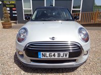 USED 2014 64 MINI HATCH COOPER 1.5 Cooper (s/s) 3dr Full Mini History, DAB, Phone