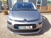 USED 2016 66 CITROEN C4 PICASSO 1.6 BlueHDi Flair EAT6 (s/s) 5dr Pan roof, Nav, Reverse Cam