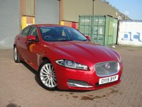 2015 JAGUAR XF 2.2 D LUXURY 4d AUTO 200 BHP £10980.00