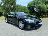 USED 2015 65 TESLA MODEL S 0.0 70D 5d AUTO 7 SEAT DUAL MOTOR LIFETIME FREE SUPERCHARGING 7 SEATS STUNNING IN BLACK PAN ROOF AUTOPILOT NAV