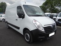 USED 2015 64 VAUXHALL MOVANO 3500 L2H2 MWB HIGHTOP 2.3 CDTI  ECOFLEX 125 BHP Direct from Leasing Company With Full Service History And Air Con & Parking Sensors, Popular Medium Wheelbase Model In Very Clean Condition! Viewing Recommended!