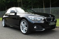 USED 2015 65 BMW 1 SERIES 2.0 125D M SPORT 5d AUTO 221 BHP LOW MILEAGE, LOW OWNERS, FULL BMW HISTORY & GOOD SPEC!!!