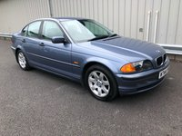 2000 BMW 3 SERIES 1.9 318I SE AUTO PETROL WITH LEATHER TRIM £2295.00