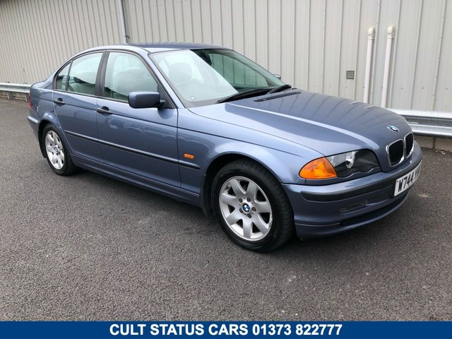 2000 W BMW 3 SERIES 1.9 318I SE AUTO PETROL WITH LEATHER TRIM