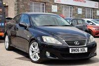 2006 LEXUS IS 2.5 250 SPORT 4d 204 BHP £3195.00