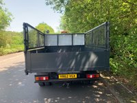 USED 2012 62 FORD TRANSIT LWB TOOL BOX CAGE TPPER 125 BHP T350 ARBORIST TRUCK 1 OWNER 40K