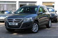 USED 2011 11 VOLKSWAGEN TIGUAN MATCH 2.0 TDI 140PS 4MOTION 4x4 4WD FULL SERVICE HISTORY WITH 11 SERVICE STAMPS INC CAMBELT CHANGE * GREAT SPEC *