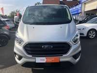 USED 2018 68 FORD TRANSIT CUSTOM 2.0 300 LIMITED P/V L1 H1 1d 129 BHP ** RAC BUYSURE INSPECTED **