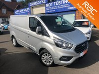 2018 FORD TRANSIT CUSTOM 2.0 300 LIMITED P/V L1 H1 1d 129 BHP £SOLD