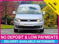 USED 2015 15 VOLKSWAGEN CADDY MAXI 1.6 TDI HIGHLINE BLUEMOTION C20 SAT NAV AIR CON SATELLITE NAVIGATION AIR CONDITIONING CRUISE ALLOYS