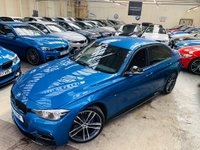 USED 2018 18 BMW 3 SERIES 2.0 320i M Sport Shadow Edition Sport Auto (s/s) 4dr PERFORMANCE-PACK+REVCAM+HK
