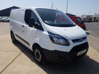 USED 2016 16 FORD TRANSIT CUSTOM  290 L1H1 PANEL VAN  100PS