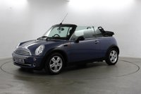 USED 2005 55 MINI CONVERTIBLE 1.6 ONE 2d 89 BHP