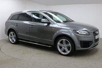 "USED 2015 15 AUDI Q7 3.0 TDI QUATTRO S LINE SPORT EDITION 5d AUTO 242 BHP Finished in stunning Grey Metallic with Black Leather Seats, 21"" Alloy Wheels, Privacy Glass, Reversing Camera, Parking Sensors, Xenon Headlights, Roof Rails, Metal Side Step, 1 Previous Owner and Audi Service History. Upon opening the drivers door you are presented with Sat Nav, Bluetooth, DAB Radio, Electric Panoramic Sunroof, 7 Seats, Electric Boot, Heated Seats, Electric Seats, Memory Seats, Bose Sound System, Electric Steering Collum, Stop/Start, Air Con, Climate Control..."