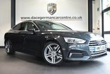"USED 2017 17 AUDI A5 3.0 SPORTBACK TDI QUATTRO SPORT 5DR AUTO 215 BHP full service history * NO ADMIN FEES * FINISHED IN STUNNING GREY WITH FULL LEATHER INTERIOR+ FULL SERVICE HISTORY + SATELLITE NAVIGATION + BLUETOOTH + DAB RADIO + CRUISE CONTROL + HEATED SEATS + PARKING SENSORS + DUAL CLIMATE CONTROL + 17"" ALLOY WHEELS"