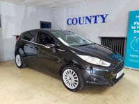 USED 2015 11 FORD FIESTA 1.0 TITANIUM 5d 99 BHP * TWO OWNERS WITH HISTORY *