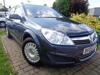 2009 VAUXHALL ASTRA 1.8 LIFE A/C 16V E4 5d AUTO 140 BHP £2989.00
