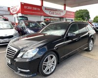 2013 MERCEDES-BENZ E CLASS 2.1 E220 CDI BLUEEFFICIENCY SPORT ESTATE 170 BHP £6495.00