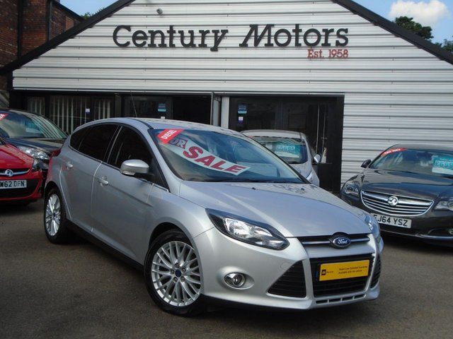 2013 63 FORD FOCUS 1.6 TDCI ZETEC 5d + APPEARANCE PACK