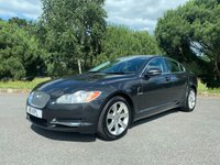 USED 2011 11 JAGUAR XF 3.0 V6 LUXURY 4d AUTO 240 BHP EXCELLENT CONDITION FSH IN BLACK WITH BLACK LEATHER