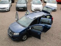 USED 2015 15 DACIA LOGAN MCV 1.5 LAUREATE PRIME DCI 5d 90 BHP SAT NAV, BLUETOOTH, CRUISE CONTROL, FULL RENAULT SERVICE HISTORY, 1 OWNER FROM NEW, £0 ROAD TAX