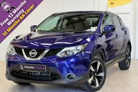 USED 2017 17 NISSAN QASHQAI 1.6 N-CONNECTA DCI XTRONIC 5d AUTO 128 BHP SAT NAV, REVERSE CAMERA, PRIVACY GLASS, CRUISE CONTROL