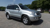 USED 2006 56 TOYOTA LAND CRUISER 3.0 INVINCIBLE D-4D 8STR 5d AUTO 171 BHP 10 X SERVICE STAMPS IN BOOK, ALLOY WHEELS, AIR CONDITIONING, ELECTRIC ADJUSTABLE SEATS, FULL LEATHER TRIM, 7 SEATER, ELECTRIC WINDOWS, HEATED FRONT SEATS, REMOTE LOCKING, ELECTRIC MIRRORS, CD-PLAYER, FRONT AND REAR PARKING SENSORS, ELECTRIC SUNROOF,