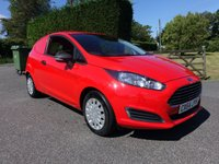 USED 2014 64 FORD FIESTA ECONETIC 1.6 TDCI 95 BHP Stunning Looking Fiesta Van In Race Red! Direct From Leasing Company With 51k & Full Service History!