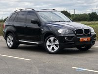 USED 2007 57 BMW X5 3.0 D SE 5STR 5d AUTO 232 BHP SIDE STEPS + IDRIVE + FULL BLACK LEATHER + P/X WELCOME + 6 MONTH WARRANTY