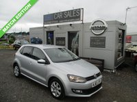 USED 2013 63 VOLKSWAGEN POLO 1.2 MATCH EDITION 5d 59 BHP