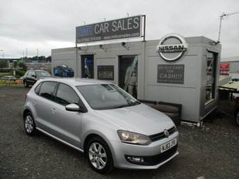 2013 VOLKSWAGEN POLO 1.2 MATCH EDITION 5d 59 BHP £4995.00