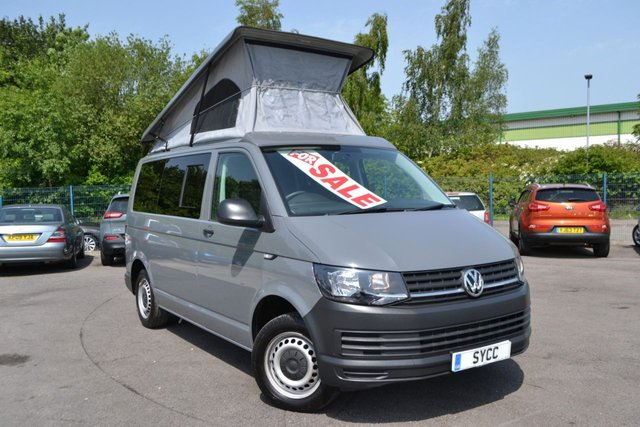 USED 2017 17 VOLKSWAGEN TRANSPORTER 2.0 T30 TDI P/V STARTLINE NOMAD CAMPER ~ REIMO ROOF & SEATS NOMAD CAMPER ~ REIMO ROOF AND SEATS ~ FULL SWIVEL FRONT SEATS