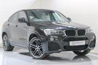USED 2016 16 BMW X4 2.0 XDRIVE20D M SPORT 4d AUTO 188 BHP