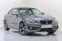 USED 2015 65 BMW 2 SERIES 1.5 218I SPORT 2d AUTO 134 BHP