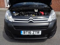 USED 2016 16 CITROEN BERLINGO 1.6 625 ENTERPRISE L1 HDI 1d 74 BHP